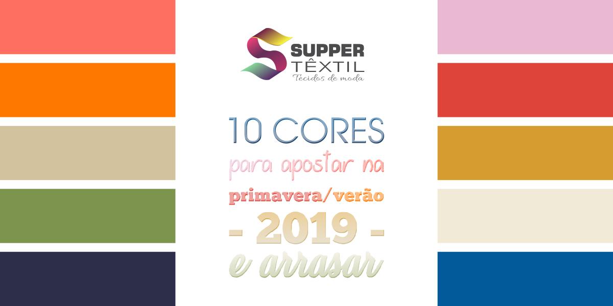 10 cores para apostar na primavera/verão 2019 e arrasar