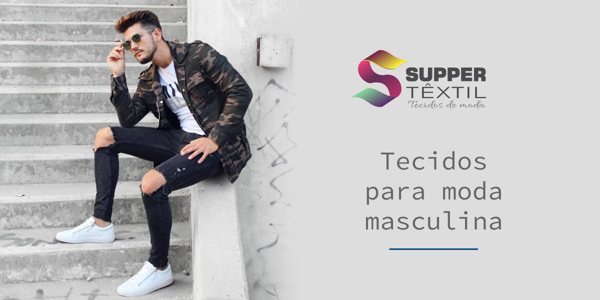 Tecidos para moda masculina