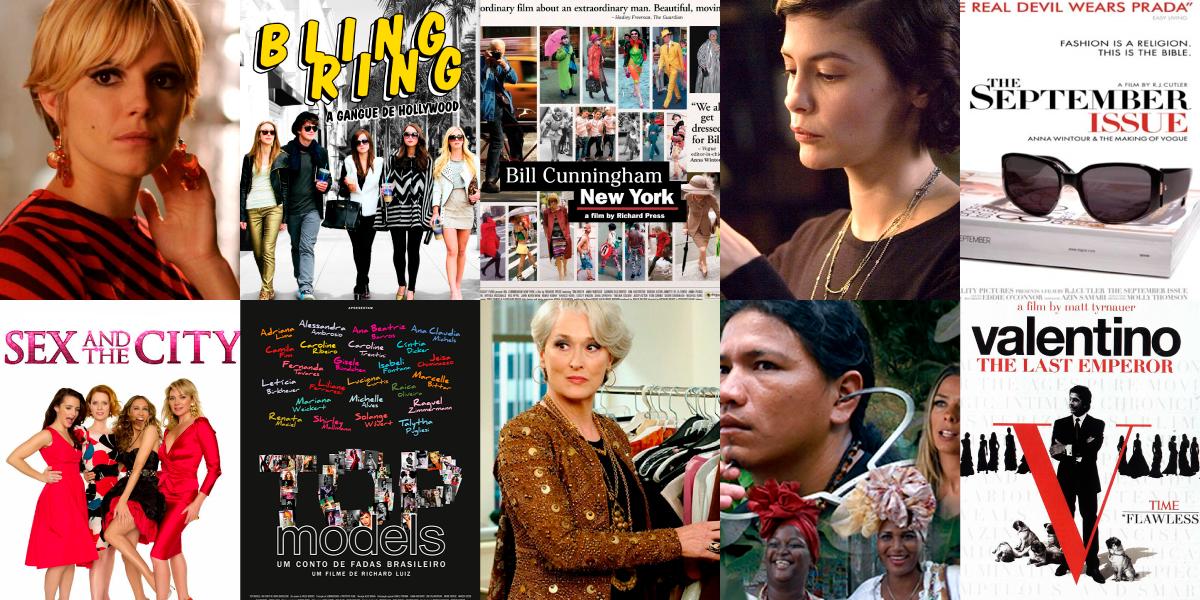 10 filmes para quem gosta de moda