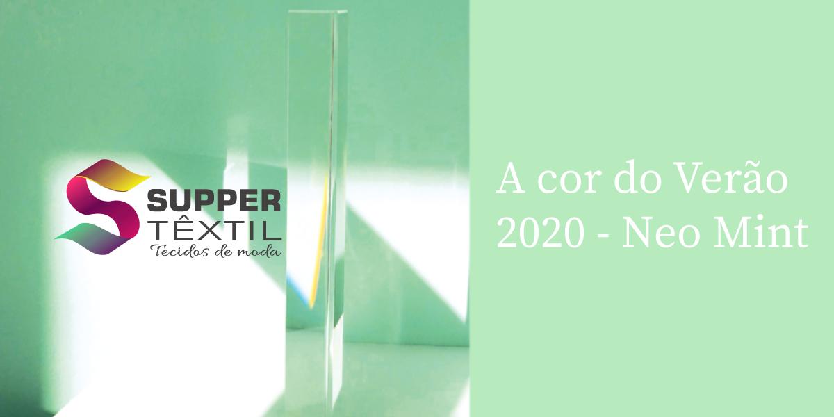 A cor do Verão 2020 – Saiba tudo sobre o Neo Mint