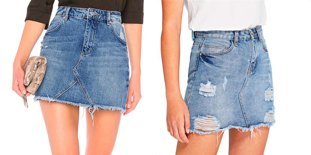 Como fazer saia com calça jeans?